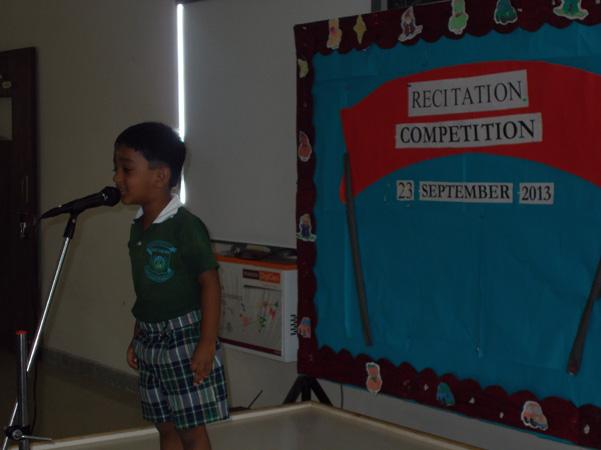 Recitation Competition