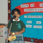 13.	Show and Tell Competition