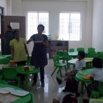 Preschool Kitchenette Activity