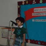 Show & tell competition